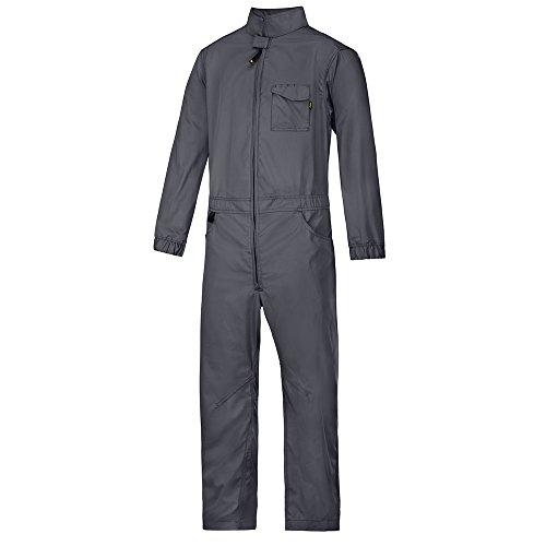Snickers Workwear Service Overall, Größe M, stahlgrau, 6073