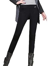Nimpansa Mujeres Pantalones Pitillo De Cintura Alta Pantalones De ... 9ea6dc65d5b2