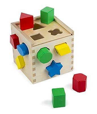 Melissa & Doug 10575 - Cube De Tri De Formes