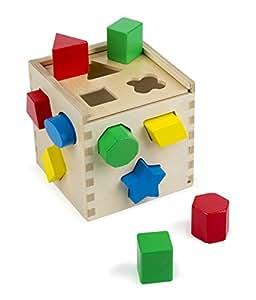 Melissa & Doug - 10575 - Cubo per  Selezione Forme