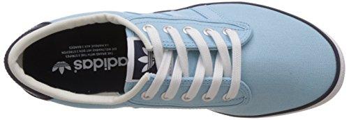 adidas Originals Kiel, Sneakers basses mixte adulte Vert d'eau