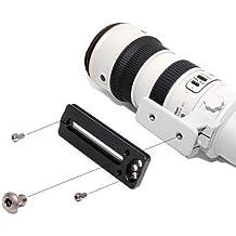 Compatible con Arca profesional zapata rápida LP 86 para Canon 4/70 - 200 millimeter, 4/300 mm IS, Nikon 2,8/80 - 200 millimeter, 4/300 mm, Tamron 2,8/70 - 200 millimeter, Sigma 2,8/70 y otros 200 millimeter-