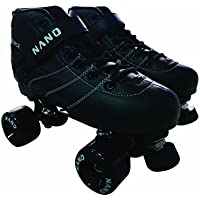 Nano Venice - Patines en paralelo, color negro/negro, talla Talla 36