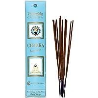 Fiore D'Oriente Vishuddi 5. Chakra Räucherstäbchen in blau Verpackung, Bambus, mehrfarbig, 8Stück preisvergleich bei billige-tabletten.eu