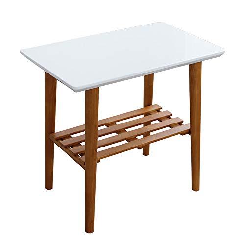 DEO Table basse en bois massif Table à thé End Tabl/Table d'appoint Table de bureau Table d'ordinateur Table de salle à manger