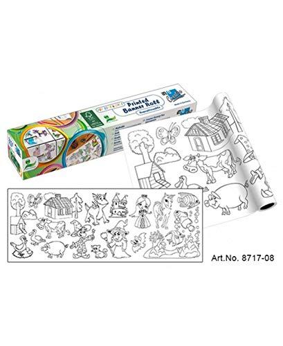 Kreative Klebefolie zum Bemalen, für Kinder, 300 mm x 4 m (Kreative Kinder)