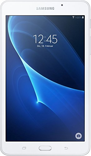 Samsung Galaxy Tab A T280 17,8 cm (7 Zoll) Tablet PC (1,3 GHz Quad Core, 1,5GB RAM, 8GB HDD, Wi-Fi Android 5,1) weiß (Fall 3 7-zoll-kinder Tablet Samsung)