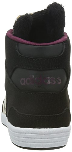 adidas - Hoops Cst Animal W, Sneakers da donna Nero (Schwarz (Cblack/Mesa/Amared))