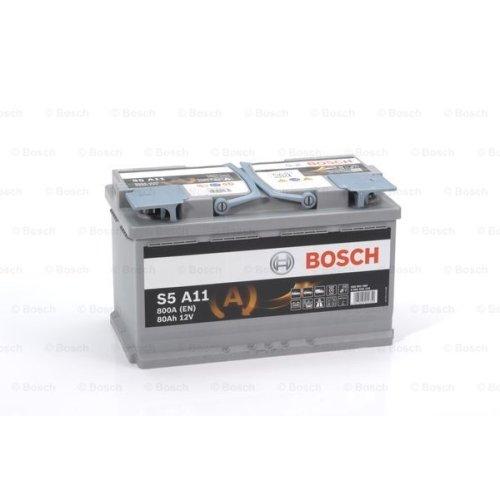 Bosch 0092S5A110 Batterie AGM 12 V 80 mAh 800 A B13