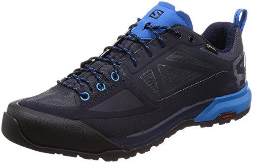 Salomon X Alp Spry GTX, Stivali da Escursionismo Uomo, Blu (Night Sky/Graphite/Indigo Bunting 000), 43 1/3 EU