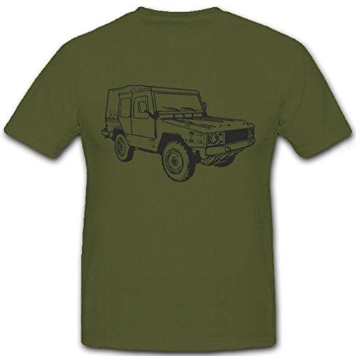 Belgische Armee Geländewagen KFZ Wagen 4x4 Allrad Fan Kult Auto - T Shirt Herren oliv #7245