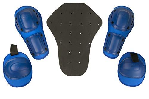 Zerimar KENROD Confezione Protezioni di Moto Composte da Espaldera Ginocchio e Gomitiere