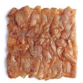 Carré de bœuf - Barbecue/Plancha - Emincé - Emincé de poulet grill - 500g - Livraison en colis réfrigéré 48h