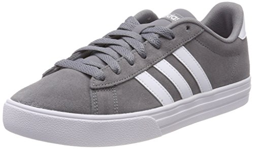 adidas Herren Daily 2.0 Fitnessschuhe, Grau (Gritre/Ftwbla/Ftwbla 000), 42 - Schuhe Klassiker Adidas