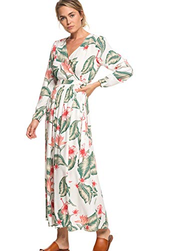 Roxy Taste of Tomorrow - Long Sleeve Wrap Dress for Women - Frauen -