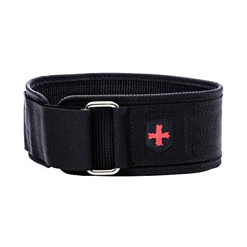 Harbinger Gürtel für Gewichtheber 4 Zoll Nylon Belt Black S