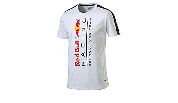 Puma Red Bull Racing Logo+ Uomo White Abbigliamento