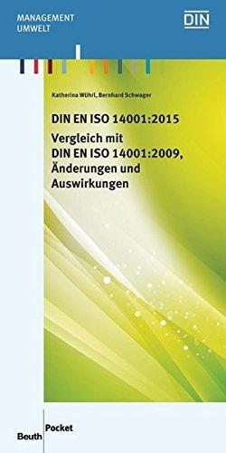 DIN EN ISO 14001:2015 - Vergleich mit DIN EN ISO 14001:2009, Änderungen und Auswirkungen (Beuth Pocket) thumbnail