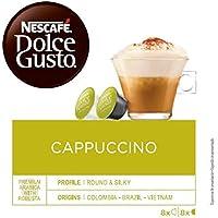 NESCAFÉ Dolce Gusto   Capsulas de Café Cappuccino   Pack de 3 x 16 Cápsulas -