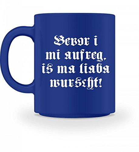BEVOR I MI AUFREG IS MA LIABA WURSCHT - Bayerisch · Boarisch · bayrisch · Shirt · lustig ·...