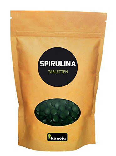 Spirulina Premium 400 mg, 625 Tabletten