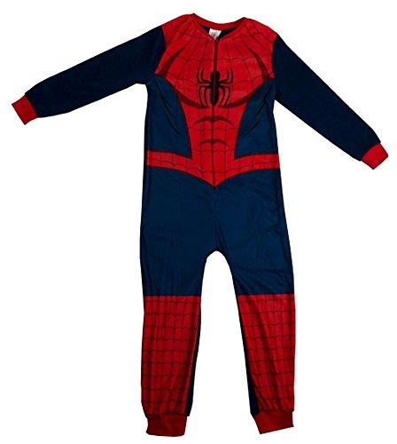 TDP Jungen Strampelanzug mehrfarbig multi Gr. 3-4 Jahre , multi - Spiderman Onesies