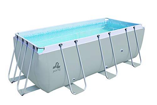 Jilong Piscine Hors-Sol Tubulaire Passaat Filtration à Cartouche - 400x207x122cm - Capacité 8870L - Hauteur d'eau 109cm