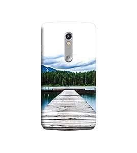 Ebby Premium Printed 3D Designer Back Case Cover For Moto X Play (Premium Designer Cae)