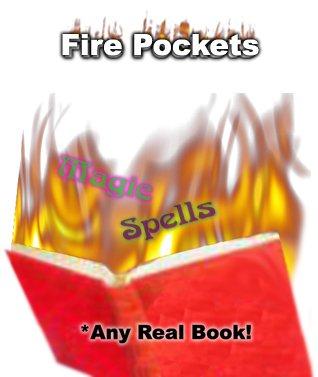 Fuoco da qualsiasi libro,giochi di prestigio,trucchi magia