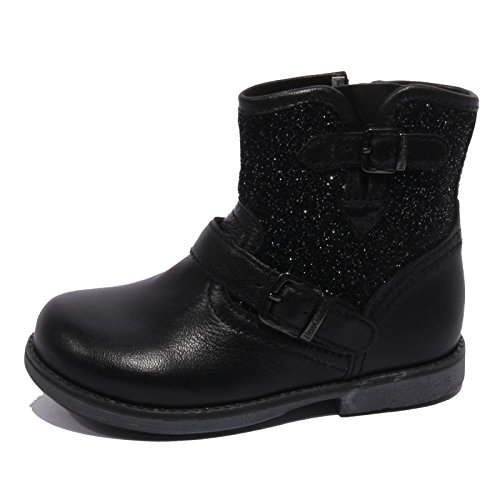 B1800 stivale bimba NERO GIARDINI JUNIOR nero strass shoe boot kid [24]