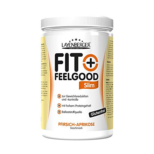 Layenberger Fit+Feelgood Slim Mahlzeitersatz Pfirsich-Aprikose, 1er Pack (1 x 430 g)