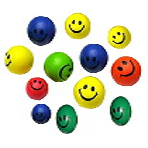 koly-12-pc-neon-mini-sonrisa-cara-relajable-bolas