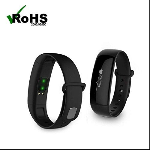 Fitness Tracker,Fitnessuhr Bluetooth Touchscreen Sport Aktivitätstracker mit Schrittzähler Armbanduhr Schlafanalyse Kalorienzähler Anruf/ SMS sport Armbanduhr Push-Message und Anrufer für iPhone Samsung Smartphone