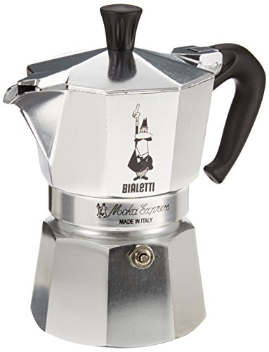 , Bialetti Moka Express Espresso Maker, 3 Cup, Best Coffee Maker, Best Coffee Maker