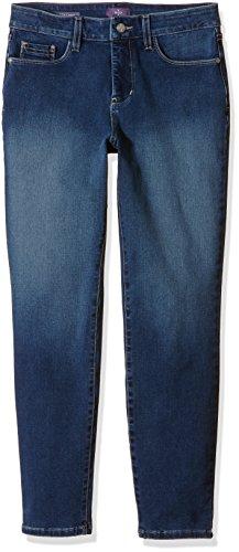 NYDJ Ankle - Jeans - 7/8 - Femme Bleu - Blue (Thornton)