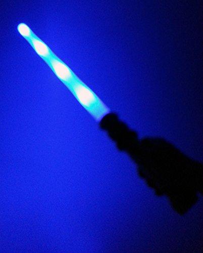 Brigamo 38923 – Sternenkrieger Set bestehend aus Space Blaster, Laserschwert mit Licht & Sound & Disc Blaster fürs Handgelenk - 2