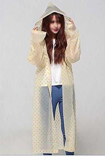 Taiduosheng Damen Regenjacke Blue,Pink red,Yellow One Size Gelb