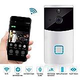 WWAVE Drahtlose Türklingel Optische Türklingel Smart Wifi Videoüberwachung Gegensprechanlage Low Power Türklingel