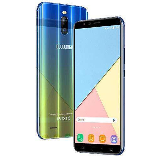Moviles Libres Baratos 4G, J6+(2019) 3GB RAM+16GB ROM/128GB 5.99 Pulgadas Full-Screen Smartphone Libre 4800mAh Quad-Core Dual SIM Dual Cámara 8MP+5MP Android 8.1 Moviles baratos y buenos (Oro)