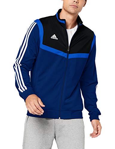 adidas Tiro19 PES Jkt Sport Jacket, Hombre, Dark Blue/White, XL