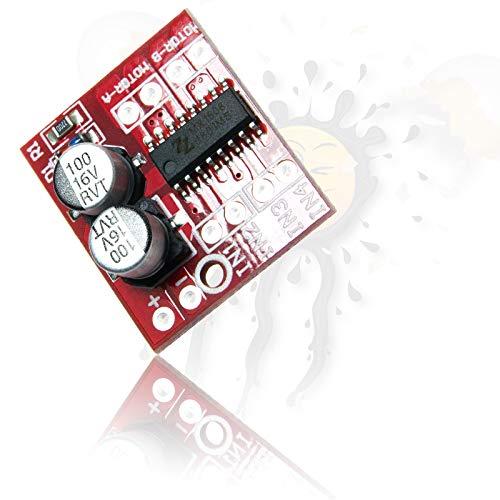 MX1508 Dual H Bridge PWM Motor Stepper Driver Board 2-10V 2 Kanal für Arduino ESP8266