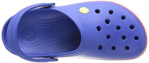 Crocs Crocband Sabot U, Ciabatte Unisex Adulto Blu (Cerulean Blue/Pepper)