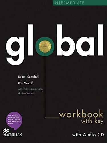 Global: Intermediate / Workbook with Audio-CD and Key