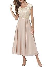 Kleid festlich wadenlang