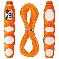 LridSu Cuerda de Salto de la Aptitud de la Cuerda Que Salta contraria Ajustable fácilmente Ajustable para los niños y el Adulto