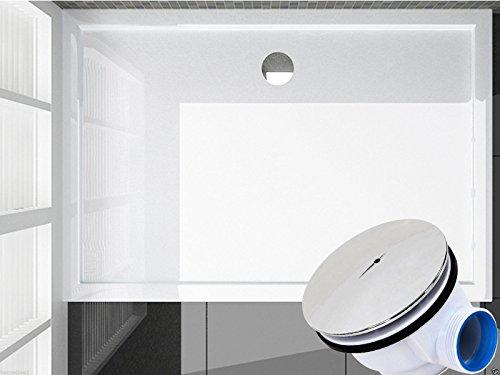 Duschtasse 120 cm - Duschwanne für Duschabtrennung / Duschkabine