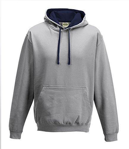 Cotton Ridge AWDis Kapuzenpulli - Heather/fr Navy
