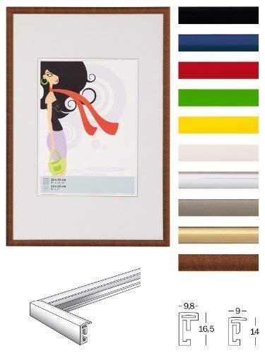 walther design KV040B New Lifestyle Kunststoffrahmen, 30 x 40 cm, schwarz
