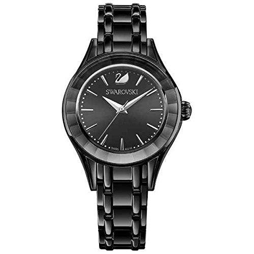 Swarovski Damen Analog Quarz Uhr mit Edelstahl Armband 5188824