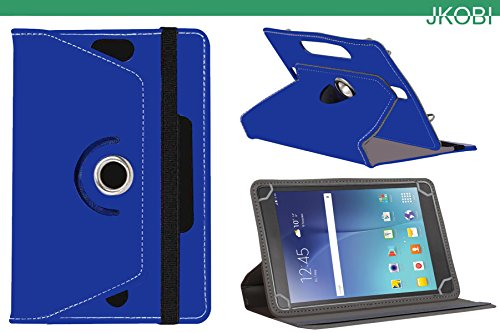 Jkobi 360* Rotating Front Back Tablet Book Flip Flap Case Cover Compatible For Samsung Galaxy Tab 3 T311 -Blue  available at amazon for Rs.225